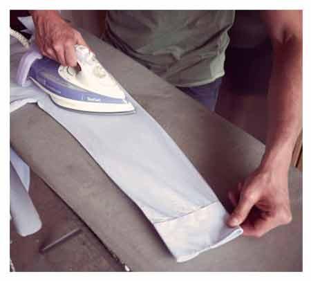 710e7d03a14c1f8 Как правильно гладить рукава рубашки - Клуб чистоты